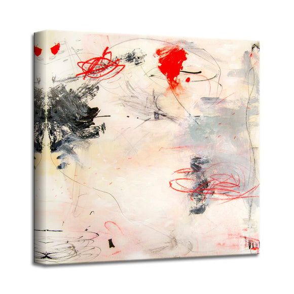 'A Gentle Breeze' Abstract Canvas Wall Art