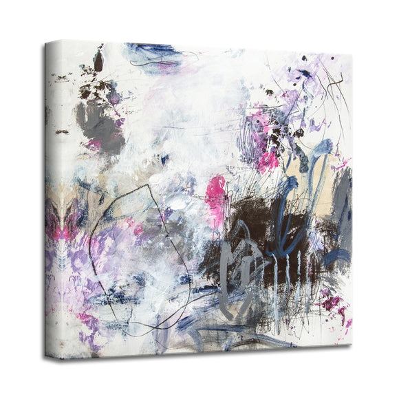 'Party Girl' Abstract Canvas Wall Art