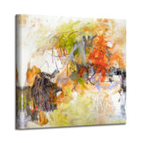 'Snazzy Pants' Abstract Canvas Wall Art