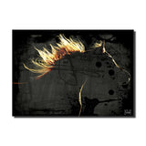Ready2HangArt 'Equestrian Saddle Ink PSXXI' Canvas Wall Art