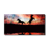 Ready2HangArt 'Equestrian Saddle Ink PSXXIV' Canvas Wall Art