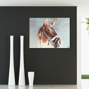 Ready2HangArt 'Equestrian Saddle Ink PSIX' Canvas Wall Art