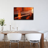 Ready2HangArt 'City Bridge Abstract' Canvas Wall Art