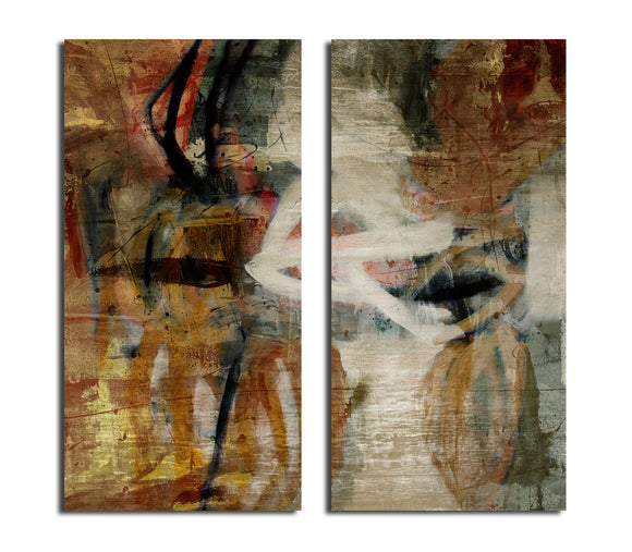 'Smash I' Oversized Canvas Wall Art (2-Piece)