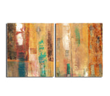 Ready2HangArt 'Smash XII' Oversized Canvas Wall Art (2-Piece)