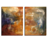 Ready2HangArt 'Smash XVII' Oversized Canvas 2-piece Wall Art Set