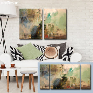 Ready2HangArt 'Smash XVIIII' Oversized Canvas Wall Art