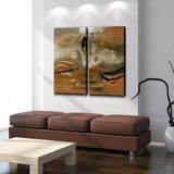 Ready2HangArt 'Smash II' Oversized Canvas Wall Art (2-Piece)