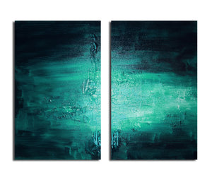 Ready2HangArt 'Smash VIIII' Oversized Canvas Wall Art (2-Piece)