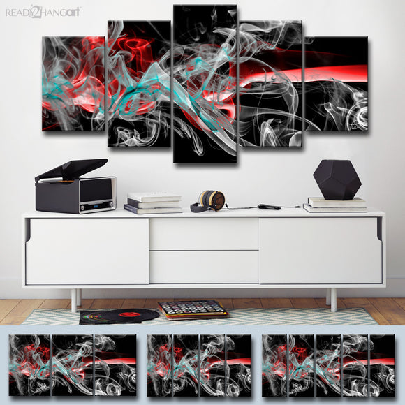 Ready2HangArt™ 'Glitzy Mist XI' by Tristan Scott Canvas Art Set