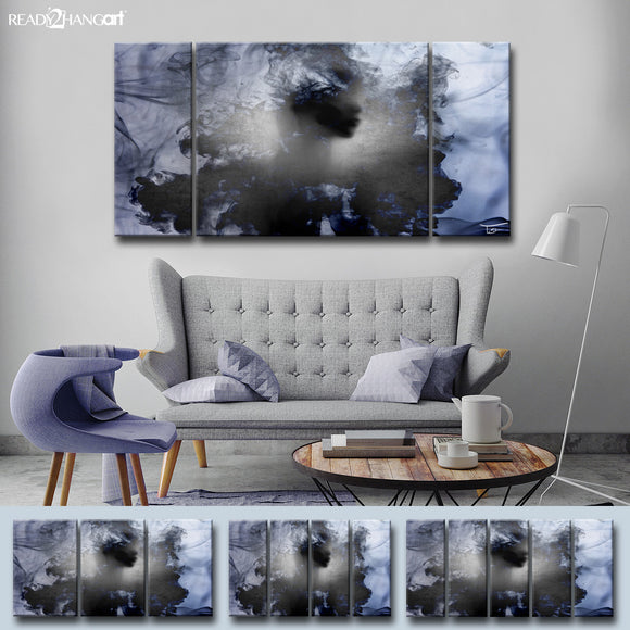 Ready2HangArt™ 'Glitzy Mist XII' by Tristan Scott Canvas Art Set