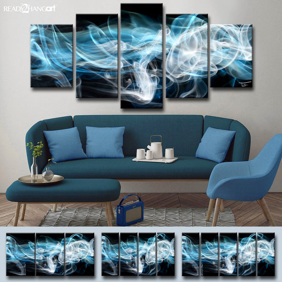 Ready2HangArt™ 'Glitzy Mist XIII' by Tristan Scott Canvas Art Set