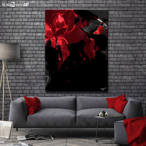 Ready2HangArt™ 'Glitzy Mist II' by Tristan Scott Canvas Art Set