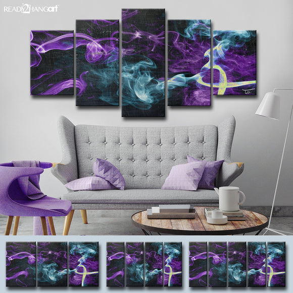 Ready2HangArt™ 'Glitzy Mist XVI' by Tristan Scott Canvas Art Set