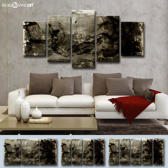 Ready2HangArt™ 'Glitzy Mist XIX' by Tristan Scott Canvas Art Set