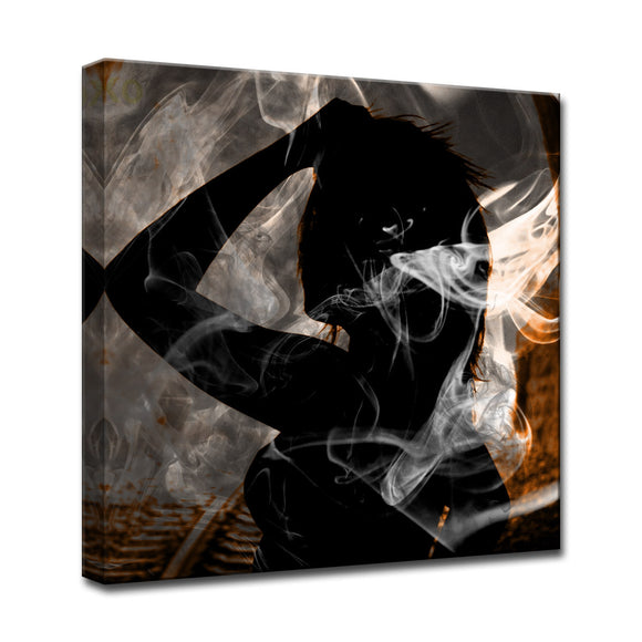 'Glitzy Mist XXVII' Wrapped Canvas Wall Art Set