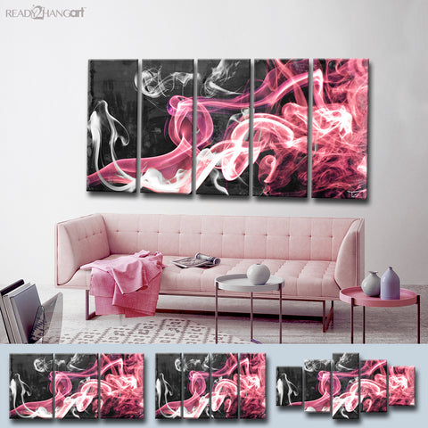 Ready2HangArt™ 'Glitzy Mist XL' by Tristan Scott Canvas Art Set
