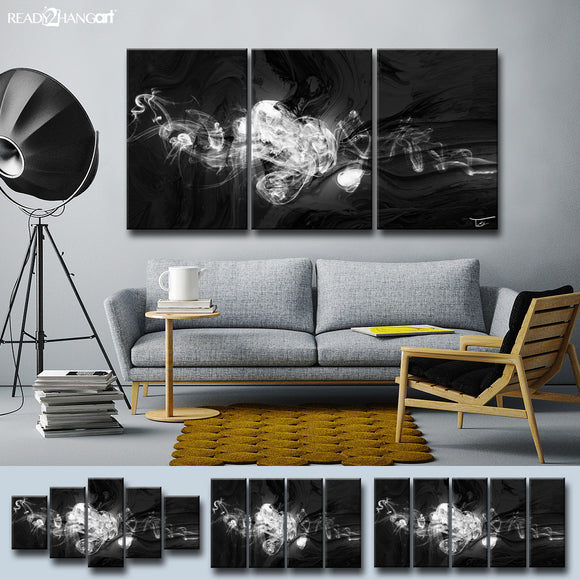 Ready2HangArt™ 'Glitzy Mist XLII' by Tristan Scott Canvas Art Set