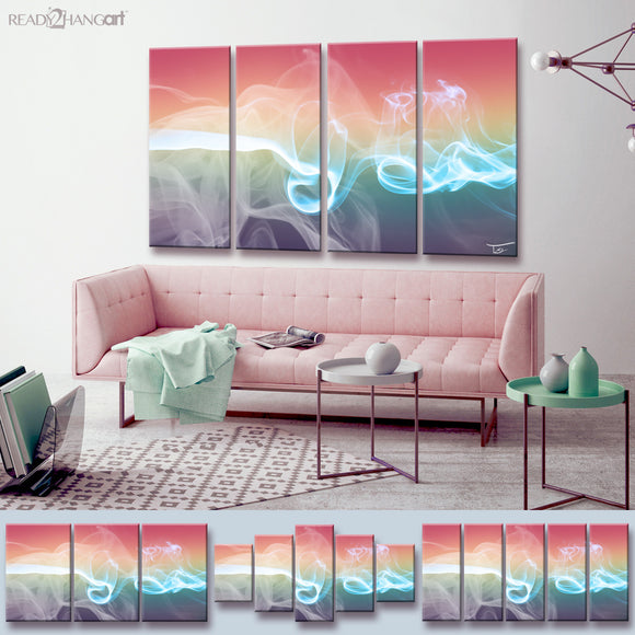 Ready2HangArt™ 'Glitzy Mist XLIX-B' by Tristan Scott Canvas Art Set