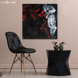 'Glitzy Mist VI' Wrapped Canvas Wall Art Set