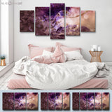 Ready2HangArt™ 'Glitzy Mist VIII' by Tristan Scott Canvas Art Set