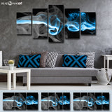 Ready2HangArt™ 'Glitzy Mist I' by Tristan Scott Canvas Art Set