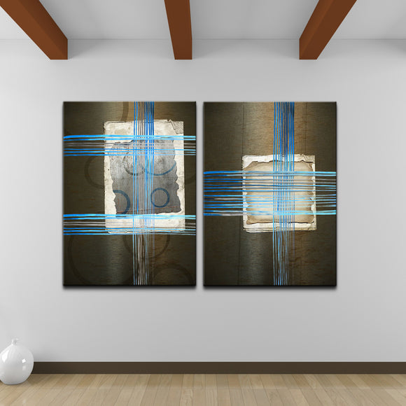 Ready2HangArt 'Abstract Spa' 2-piece Canvas Wall Art Set