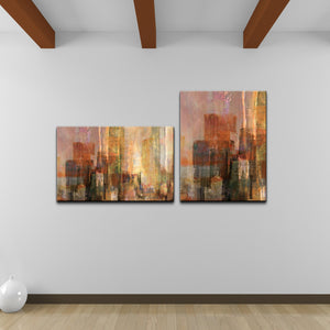 Ready2HangArt 'Abstract Spa' Canvas 2-piece Wall Art