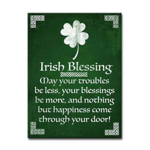 Ready2HangArt 'Irish Blessing' Canvas Art