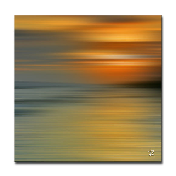 'Blur Stripes XII' Wrapped Canvas Wall Art