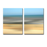 Ready2HangArt 'Blur Stripes XV' 2-PC Canvas Wall Art Set
