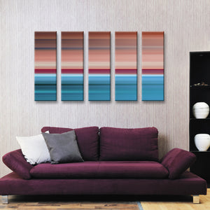 Ready2HangArt 'Blur Stripes XXVI' 5-PC Canvas Wall Art Set