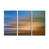 Ready2HangArt 'Blur Stripes XXXVI' 3-PC Canvas Wall Art Set