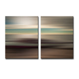 Ready2HangArt 'Blur Stripes XLI' 2-PC Canvas Wall Art Set