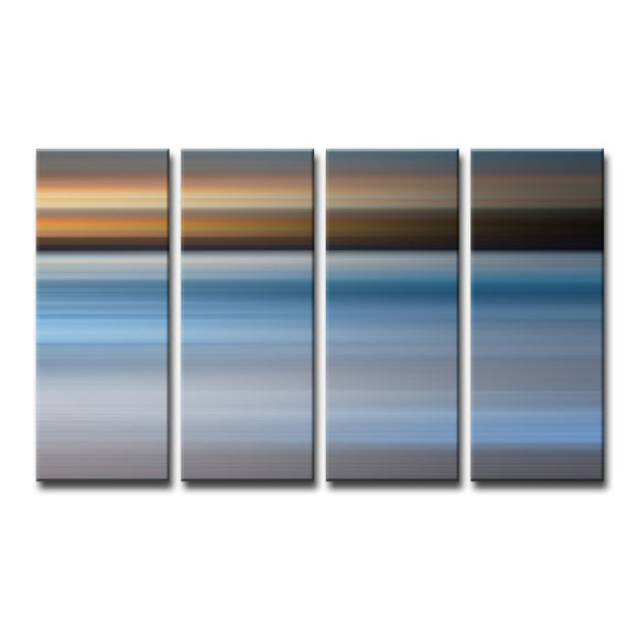 Ready2HangArt 'Blur Stripes XLIII' 4-PC Canvas Wall Art Set