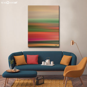 Ready2HangArt™ 'Blur Stripes LI' by Tristan Scott Canvas Art