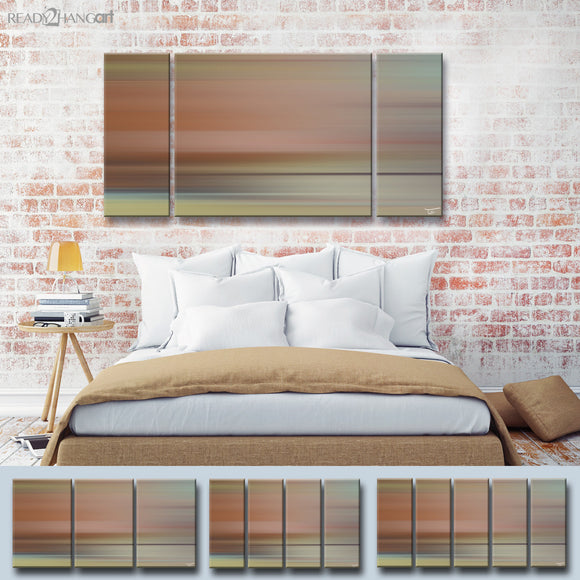 Ready2HangArt™ 'Blur Stripes LIII' by Tristan Scott Canvas Art Set