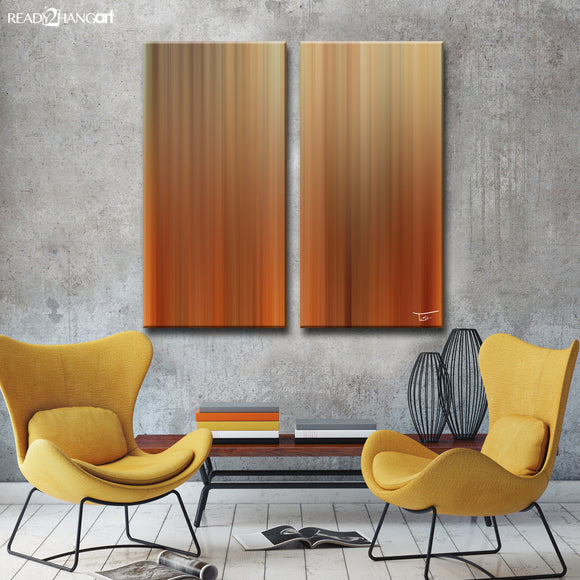 Ready2HangArt™ 'Blur Stripes LIV' by Tristan Scott Canvas Art Set