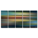 Ready2HangArt™ 'Blur Stripes LVII' by Tristan Scott Canvas Art Set