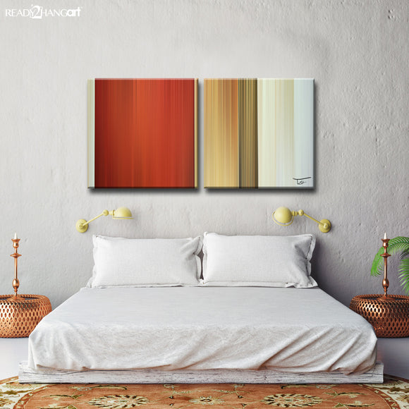 Ready2HangArt™ 'Blur Stripes LXIV' by Tristan Scott Canvas Art Set