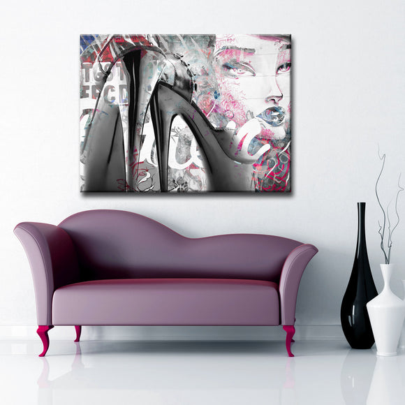 Ready2HangArt 'Urban Fashion XXXIX' Canvas Art