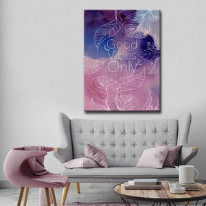 Ready2HangArt 'Good Vibes' by Olivia Rose Canvas Art
