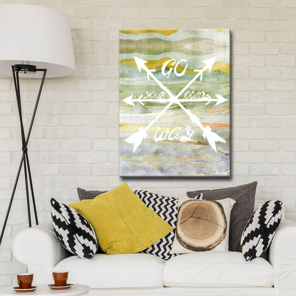 Ready2HangArt 'Your Way' by Olivia Rose Canvas Art