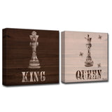 Ready2HangArt 'King & Queen' by Olivia Rose 2-PC Canvas Art Set