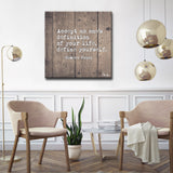 Ready2HangArt 'Define Yourself' Inspirational Canvas Art by Olivia Rose