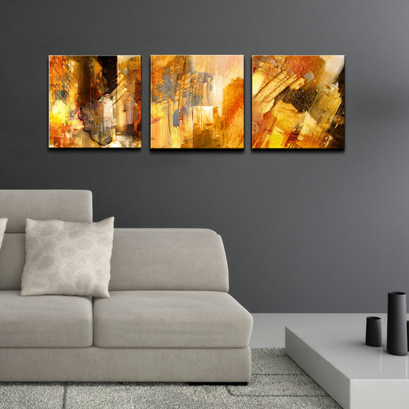 Ready2HangArt 'Abstract' Canvas Wall Art 3-pc Set