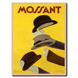 Vintage Mossant by Leonetto Cappiello Wrapped Canvas Art