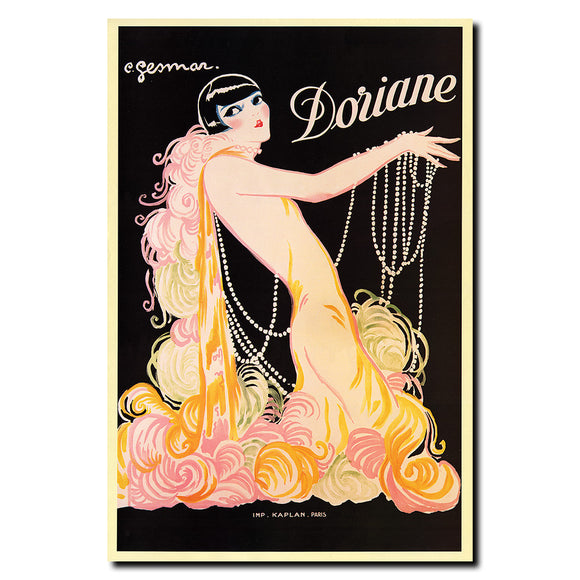 Vintage Doriane by E. Gesmar Wrapped Canvas Art