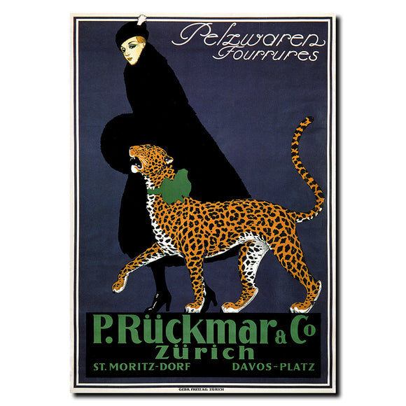 Vintage P. Ruckmar & Co. by Ernest Montout Wrapped Canvas Art