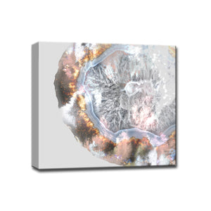 'Agate Core' Gallery Wrapped Canvas Art